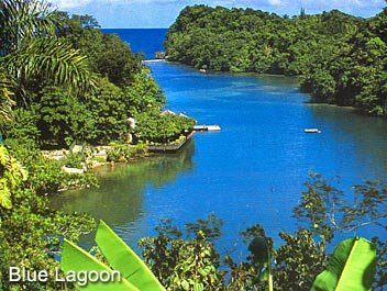 Blue-Lagoon- Port Antonio Jamaica